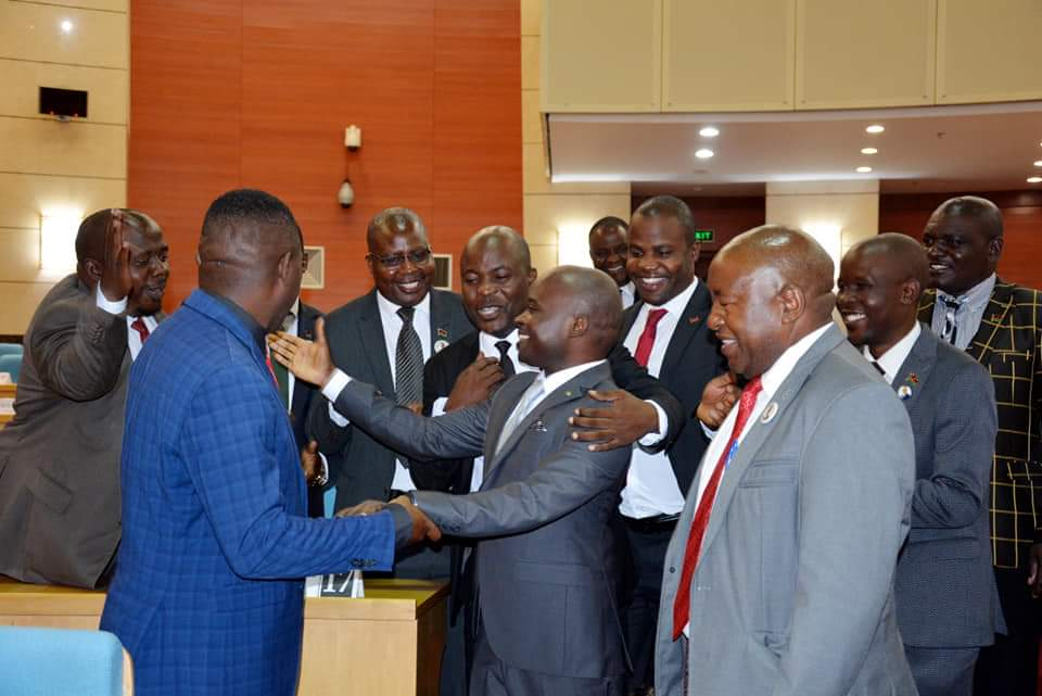 MCP MPs welcome Dimba to Parliament