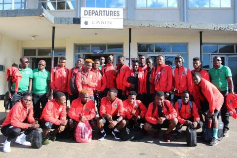 Malawi Under 20 squad and technical panel