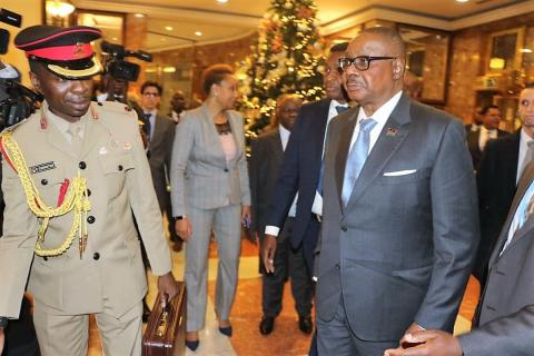 Mutharika in Spain